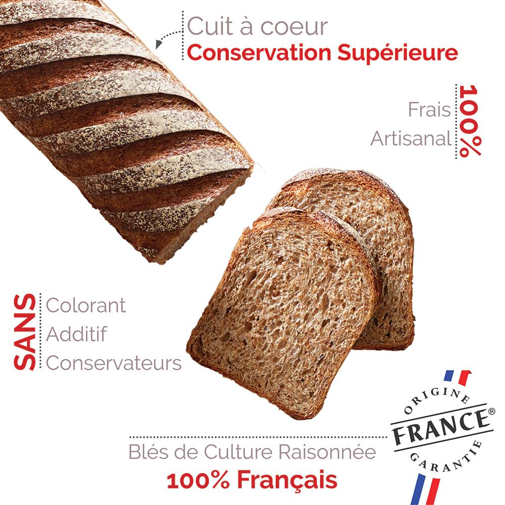 pain frais de qualité