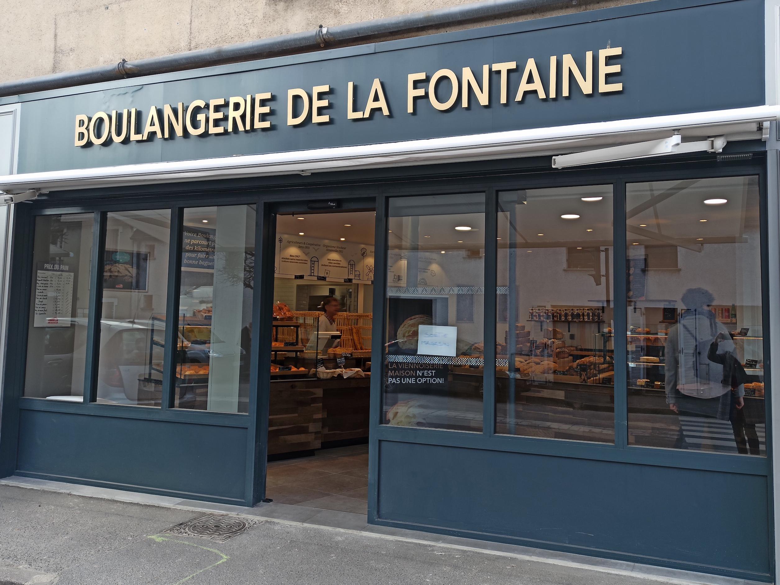 Boulangerie de la fontaine Arnouville