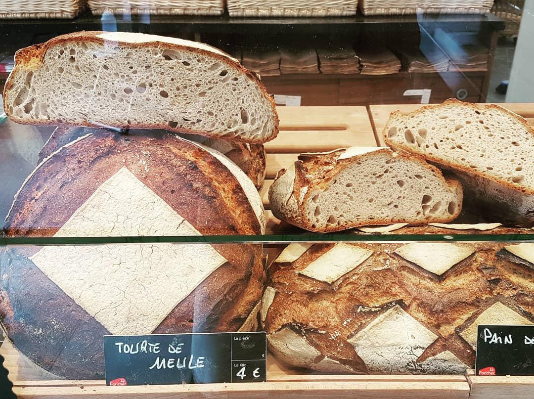 Pains au levain de la Boulangerie de la fontaine à Arnouville 95
